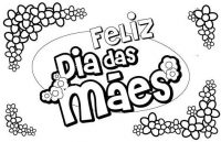 Dia das Mães 2012 – Desenhos bíblicos para colorir e homenagear as mães