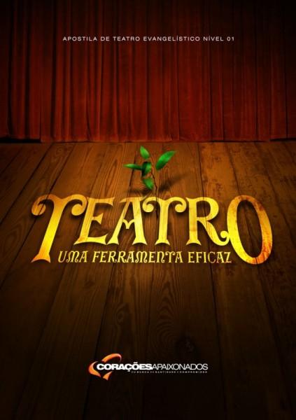"""Dica de livro evangélico: """"Teatro – Uma ferramenta eficaz"""""""