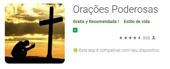 Baixe App Gratuito para fazer Oração Poderosa contra as forças do mal!