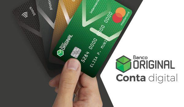 Cartão do banco Original devolve parte das compras para usar como quiser
